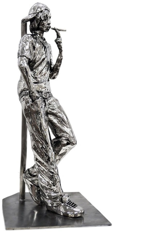 Steel sculpture - Hooligan - Irina Daylene